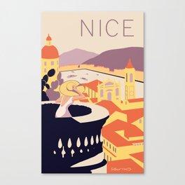 Nice – Sunset Version Canvas Print