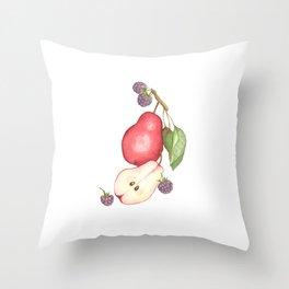 Fruits.... :\ Throw Pillow
