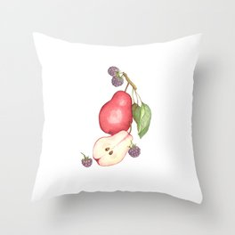 Fruits.... :\ Throw Pillow