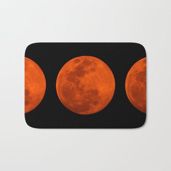 Orange Moon Bath Mat