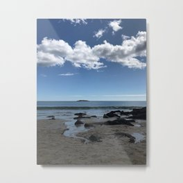 """Beach in Acadia"" Photography Metal Print"