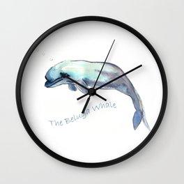The Beluga Whale Wall Clock