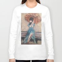 umbrella Long Sleeve T-shirts featuring Umbrella by Alyssa Leigh