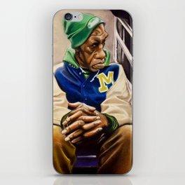 """Train Man"" iPhone Skin"