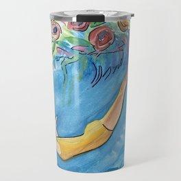 Diving Deep Travel Mug
