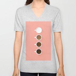 Coffee + Simplicity Unisex V-Neck
