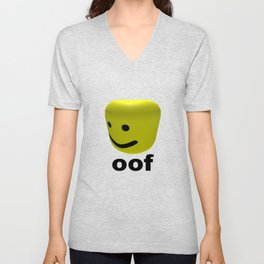 Roblox Oof - Roblox Unisex V-Neck