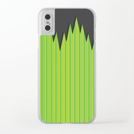 Japanese Plastic Grass Clear iPhone Case