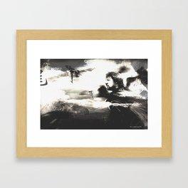 Look to the Stars - Man of Steel (Ver. 2) Framed Art Print