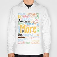 motivational Hoodies featuring Lab No. 4 - More Motivational Quotes Poster by Lab No. 4