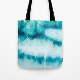Blue Flow Tote Bag