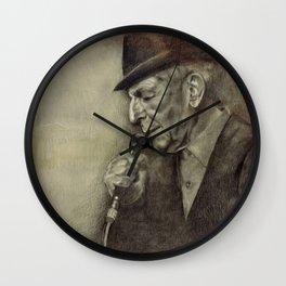 Leonard Cohen Wall Clock