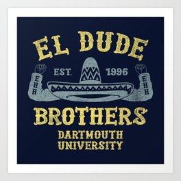 The Peep Show - El Dude Brothers Art Print