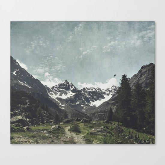 High Valley Alps Canvas Print