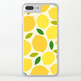Lemon Clear iPhone Case