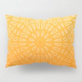 Orange & Yellow Islamic Geometrical Pattern Pillow Sham