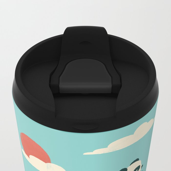 Float On Metal Travel Mug