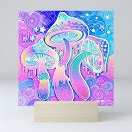Magic Mushrooms Mini Art Print