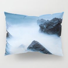 Disappearing waves Pillow Sham