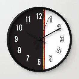 No Traveler Returns Abstract Print Wall Clock