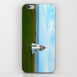 Tiny Lighthouse and Giant Bridge iPhone Skin