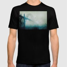 Into the Fog Mens Fitted Tee MEDIUM Black