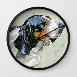Reg the Basset Wall Clock
