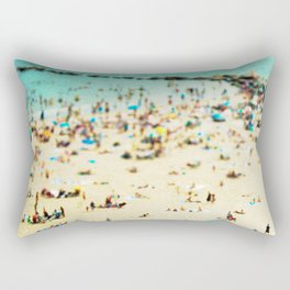 Coney Island Beach 2 Rectangular Pillow