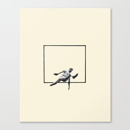 Hurdle (Rectangle) Canvas Print