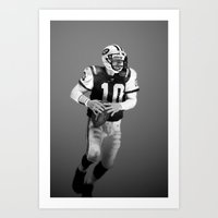 chad wys Art Prints featuring Chad Pennington by starghill