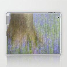 The Bluebell Wood, Norwich Laptop & iPad Skin