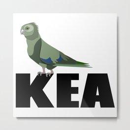 Kea Metal Print
