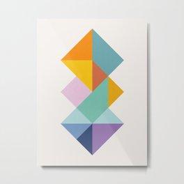 Color geometry I Metal Print