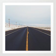 Endless Road Art Print