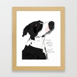 OPD Milo Framed Art Print