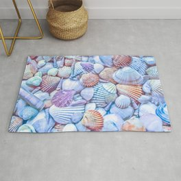 Seashells Everywhere Rug