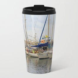 A boat called Feeling Travel Mug