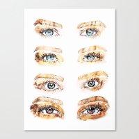 golden girls Canvas Prints featuring The Golden Girls by Sara Eshak