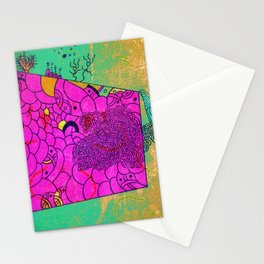 Shifting Parallels Stationery Cards