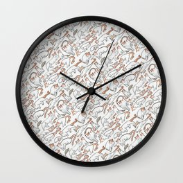 Ringo the Cat Wall Clock