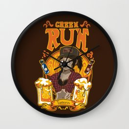 Green Run Tavern Wall Clock