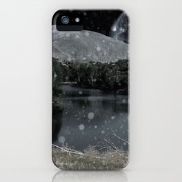 Moon Landscape iPhone Case