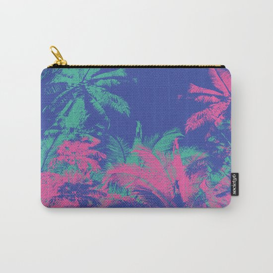 Colored Palms Carry-All Pouch