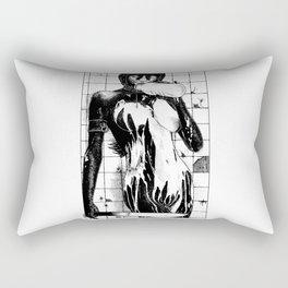 asc 453 - La purification avant la lutte (The war paint) Rectangular Pillow