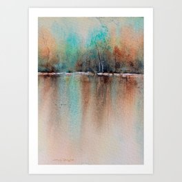 Reflections of Serenity Art Print