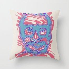 romeros masque Throw Pillow