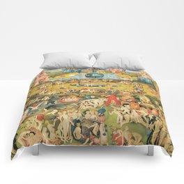 Bosch Garden Of Earthly Delights Comforters