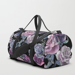 Dark flowers Duffle Bag