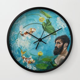 Observe and Let Go Wall Clock