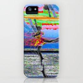 Glitch, Ballerina iPhone Case